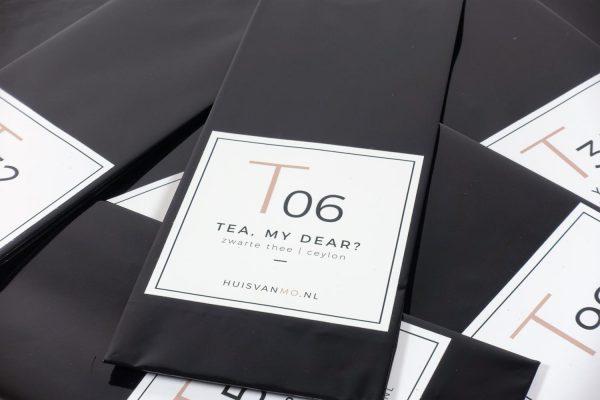 heerlijke ceylon thee, deze T06 TEA, MY DEAR, echt een klassieker