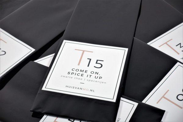 heerlijke pittige zwarte thee melange, perfect om chai mee te maken