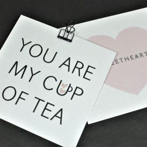 romantisch kaartje voor Valentijn Sweetheart