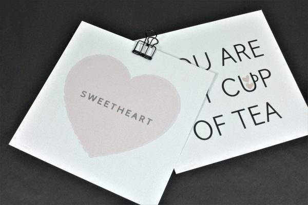 romantisch kaartje
