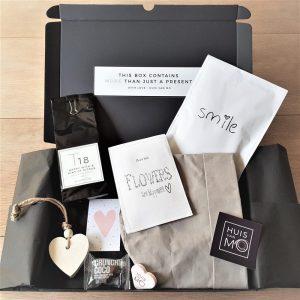 dit brievenbuspakje is echt een kadootje waar je blij van wordt, some happiness for you!
